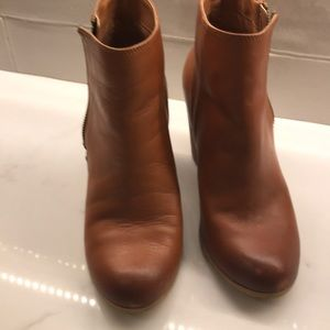 BP Booties with Ankle Zipper